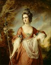 1760s Elizabeth Cust, Mrs Yorke, as a shepherdess by Francis Cotes (Erddig - Wrexham, Wrexham County Borough UK)