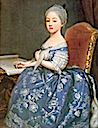 (early) 1760s (future) Comtesse de Provence Maria Giuseppina Luigia di Savoia by Giuseppe Dupra (?; location unknown to gogm)