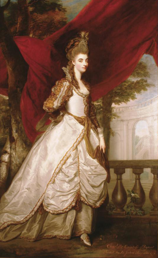1761 or earlier Charlotte Walpole, Countess of Dysart by Sir Joshua Reynolds (Ham House, Richmond) Photo - Nicky Grimaldi From northeast.greatbritishlife.co.uk:editorial-image:id:119086