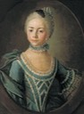 1763 Countess Sophia Dmitrievna Matiushkina in childhood by Kyril Golovachevsky (location unknown to gogm)