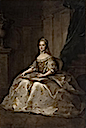 1764 Marie-Josèphe de Saxe, Dauphine de France by Maurice Quentin de la Tour after Anne Nivelon (Versailles)