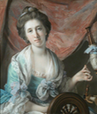 1766-1770 Frances Ann Acland, Lady Hoare by Francis Cotes (Stourhead - Stourton, Wiltshire UK)