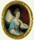 1766 Queen Charlotte Britain by Ozias Humphry (Royal Collection)