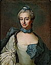 1766 Fredrika Ulrika Staël von Holstein -neé Sperling- (1735-1814), wife of Georg Gustaf Staël von Holstein by Johan Stålbom (auctioned)