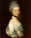 ca. 1767 Lady Elizabeth Montagu, Duchess of Buccleuch and Queensberry by Thomas Gainsborough (Boughton House, Northamptonshire UK)