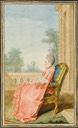 1768 Comtesse de Guiche by Louis Carrogis (Musée Condé - Chantilly France)
