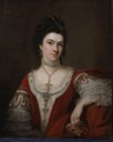 1768 Duchess of St. Albans by Nathaniel Hone (Philip Mould)
