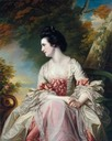 1768 Lady by Francis Cotes (Tate Collection - London UK)