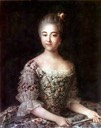 1768 Varvara Sheremetev, later Countess Razumovsky, by Ivan Petrovich Argunov (Museum-Estate Kuskovo - Moskva, Russia)