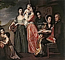1768 Leigh Family by George Romney (National Gallery of Victoria, Melbourne)