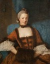 1759 Henrietta Diana (1728–1761), Dowager Countess of Stafford by Allan Ramsay (Glasgow Museums - Glasgow, Lanarkshire, UK) X 1.5
