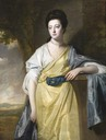 1769 Mary Bold (1740–1824), Mrs Thomas Hunt III by George Romney (Lanhydrock - Bodmin, Cornwall UK)