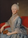 ca. 1760 Princess Maria Kunigunde of Saxony by Dresdener Hofmaler (auctioned)