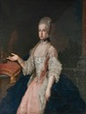 1770 Maria Carolina of Austria as Queen of Naples by Francesco Liani (Museo Campano - Capua, Campagnia, Italy) Wm X 1.5