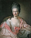 1770 Maria Antonia von Branconi by Anna Rosina de Gasc (location unknown to gogm)