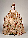 1770s Court dress (robe à la française and petticoat) (Museum of Fine Arts - Boston, Massachusetts USA)