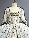 1770s Embroidered court gown (auctioned by Christie's) front