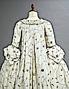 1770s Embroidered court gown (auctioned by Christie's) back