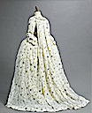 1770s Embroidered court gown (auctioned by Christie's) back quarter