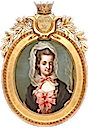 1770s Princess Sofia Albertina of Sweden, sister of King Gustav III by Gustaf Lundberg (auctioned by Uppsala Auktionskammare)