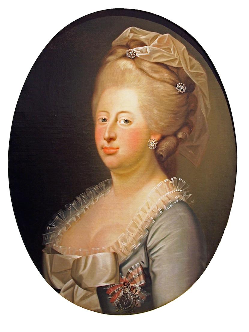 1771 Caroline Mathilde by Jens Juel (Residenzmuseum, Celler Schloß - Celle, Niedersachsen ...