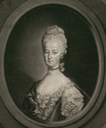 1771 Marie Antoinette, Dauphine de France, Archiduchesse d'Autriche by Johann Elias Haid after Johann Michael Militz_- (Bibliothèque nationale de France - Paris, France) size fixed 44.62 cm high at 50 pixels/cm