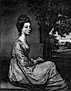 1771 Jemima, Countess Cornwallis (née Jemima Tullikens Jones, 1747-1779) by James Watson after Joshua Reynolds (British Museum)