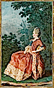 1771 Madame du Dreneuc by Louis Carrogis (Musée Condé - Chantilly France)