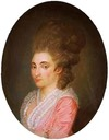 1773 Margaretha Johanna Munter, spouse of Mr Diederik Johan count van Hogendorp van Hofwegen by Piot (Regionaal Historisch Centrum, Eindhoven Netherlands)