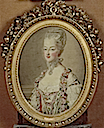 1773 Dauphine Marie Antoinette by Henri Michel Cozette and Goblins works after tables by Francois Hubert Drouais