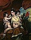 1773 Portrait of Lady Cockburn and her three oldest sons by Sir Joshua Reynolds (National Gallery - London UK)
