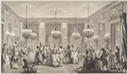 1774 Le Bal Paré by Antoine Jean Duclos (French, Paris, 1742–1795) Etching after Augustin de Saint-Aubin (Metropolitan Museum of Art - New York City, New York USA) wide view