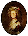 1774(?) Mme de Fougeret, née Charlotte d'Outremont by Élisabeth Louise Vigée-Lebrun (location unknown to gogm)