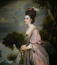 1775 Mrs. Richard Crofts, née Harriett Darell, by Sir Joshua Reynolds (Dixon Gallery and Gardens - Memphis, Tennessee, USA) From dixon.org:the-dixon-post:posts:mrs-crofts-secret