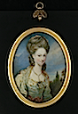 1776 Elizabeth Moffat, Lady Mills by William Grimaldi (Philip Mould)