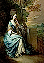 1777-1778 Anne, Countess of Chesterfield by Thomas Gainsborough (Getty Museum - Los Angeles, California USA)