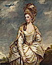 1777-1778 Sarah Campbell by Sir Joshua Reynolds (Yale Center for British Art - New Haven, Connecticut USA)