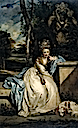 1777-1778 The Honourable Miss Monckton by Sir Joshua Reynolds (Tate Collection - London UK)