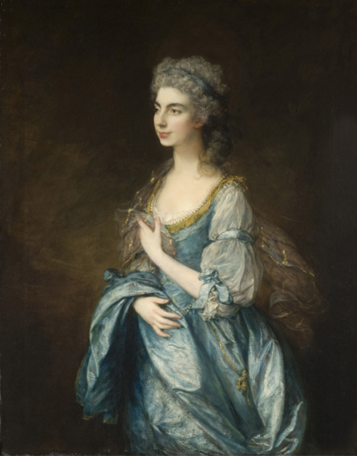 1778 Lady Rodney, née Anne Harley, by Thomas Gainsborough (Philadelphia Museum of Art) From the museum Web site size fixed