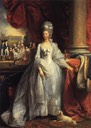 1779 Queen Charlotte by Benjamin West (Royal Collection)