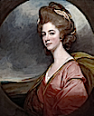 1779-1780 Lady Emilia Kerr by George Romney (Tate Collection - London UK) Tate Collection