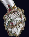 1780 Heavily embroidered sleeve cuff from Marie Antoinette's dress From pinterest.com:cjmcl1973:hm-marie-antoinette-queen-of-france: