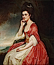 1780-1781 Lady Grantham, née Mary Jemima Yorke by George Romney (Philadelphia Museum of Art - Philadelphia, Pennsylvania USA)