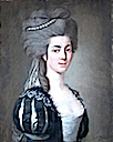 1780 Leonor de Almeida Portugal, Marquesa de Alorna by Pitschmann first name unknown (private collection)
