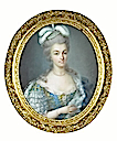 1780 Marie Antoinette by Anne Vallayer-Coster pastel (private collection)