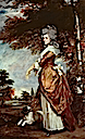 1780 Mary Amelia First Marchioness of Salisbury by Sir Joshua Reynolds (Halfield House - Hatfield, Hertfordshire UK)