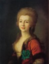 1780s Catherine Vorontsova, née Senyavina by Dmitry Grigorievich Levitsky (location unknown to gogm)