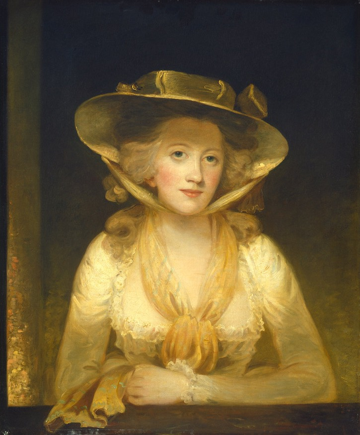 1781-1782 Lady Cunliffe by Thomas Hoppner (National Gallery of Art, Washington, DC, USA) From liveinternet.ru:users:5347628:post317388642