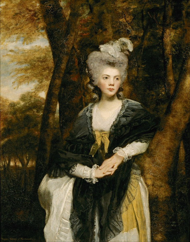 1781-1782 Lady Frances Finch by Sir Joshua Reynolds (National Gallery of Victoria - Melbourne, Victoria, Australia) Google Art Project via Wm UPGRADE