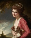 1782 Lady Hamilton (as Nature) by George Romney (Frick Collection - New York City, New York USA)